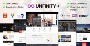 Unfinity – One page WordPress