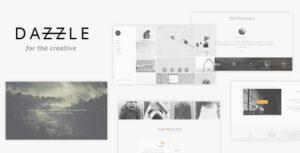 Dazzle – Portfolio Theme for Creative Professionals