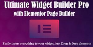 Ultimate Widget Builder Pro with Elementor Page Builder