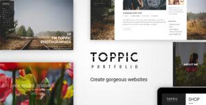 TopPic – Portfolio Photography Theme