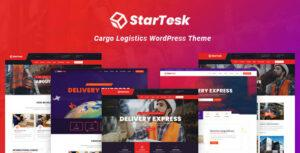 Startesk – Logistics & Transport WordPress Theme