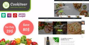 Read more about the article Cookiteer – Food & Recipe WordPress Theme