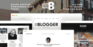 Read more about the article TheBlogger WordPress Theme