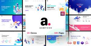 Read more about the article Agmycoo – Isometric Startup Creative Digital Agency WordPress Theme