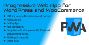 Progressive Web App (PWA) & Push Notifications for WordPress & WooCommerce