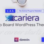 Cariera – Job Board WordPress Elementor Theme